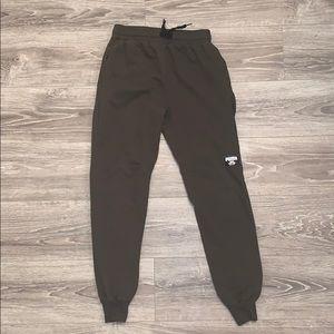 Puma Green Sweat Pants.